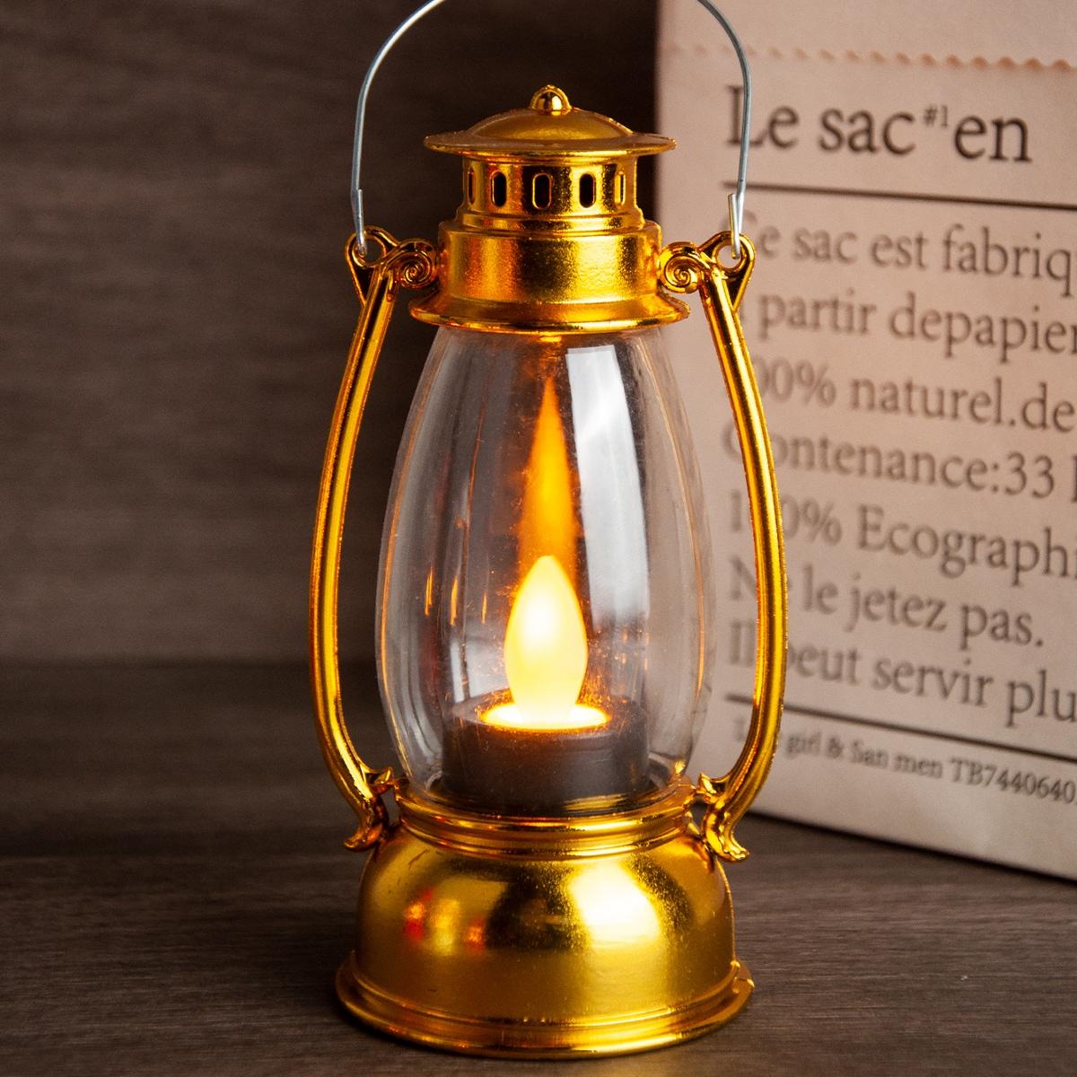 1Pc Vintage Kerosene Lamp