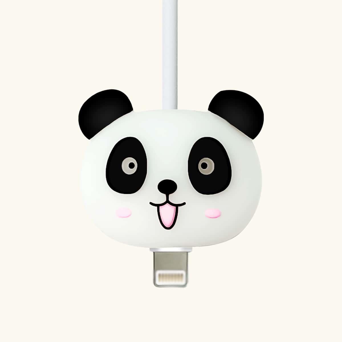 Протектор для кабеля передачи данных в форме панды