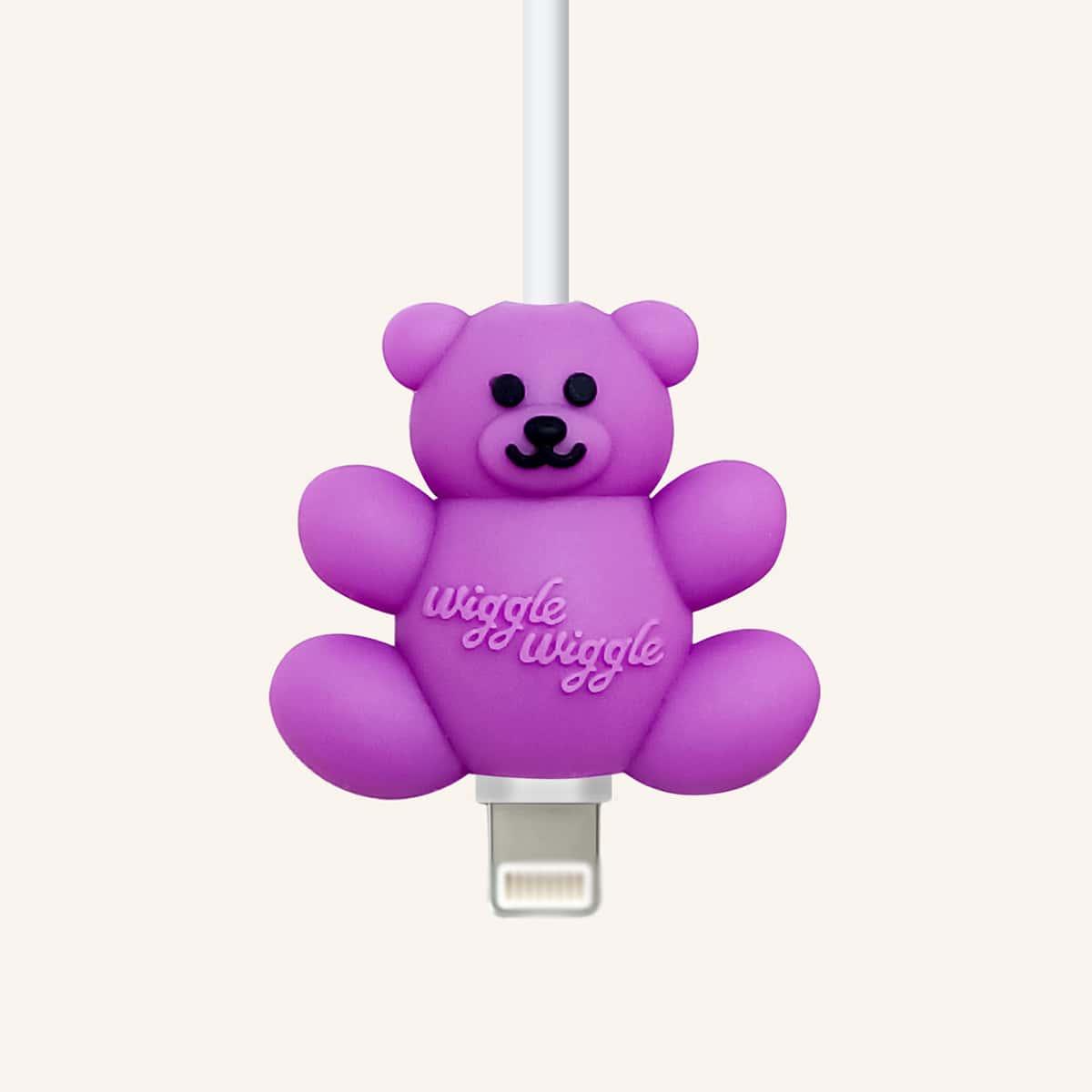 Протектор для кабеля передачи данных в форме медведя