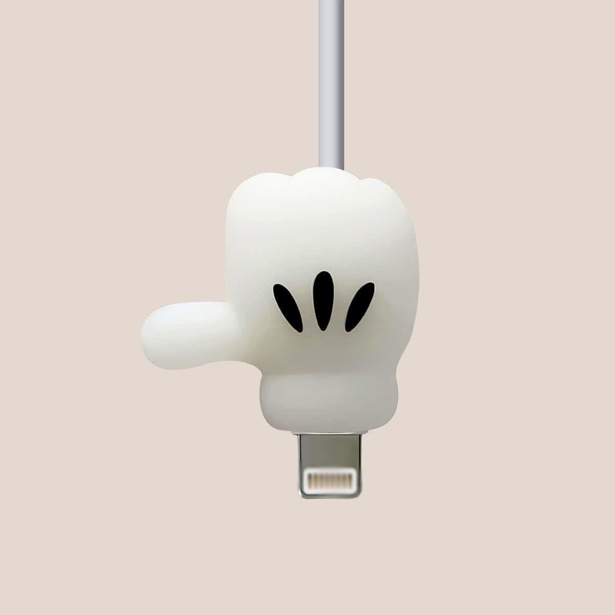 Протектор для кабеля для передачи данных в форме большего пальца