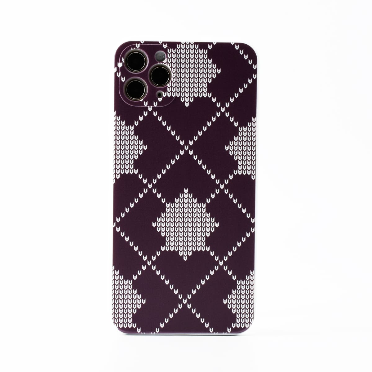 Argyle Pattern Phone Case, SHEIN  - buy with discount