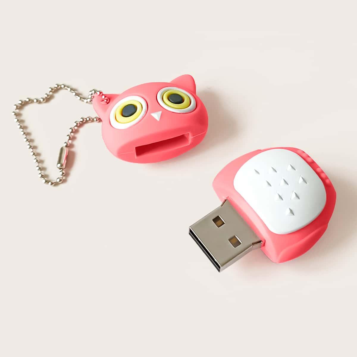 USB-флеш-накопитель в форме совы по цене 350