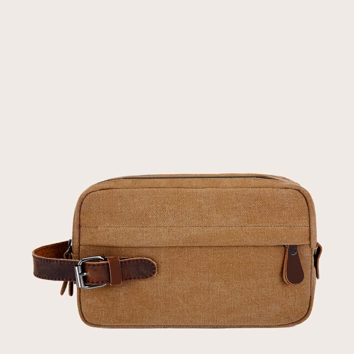 Мужская сумка-клатч с пряжкой