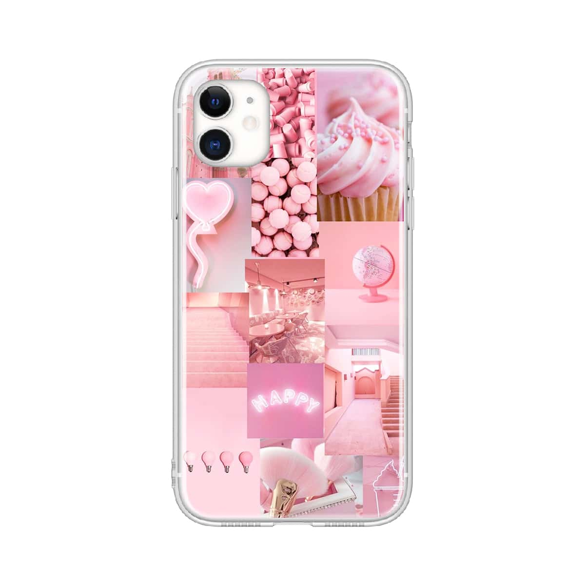 Mixed Pattern Phone Case, SHEIN  - buy with discount