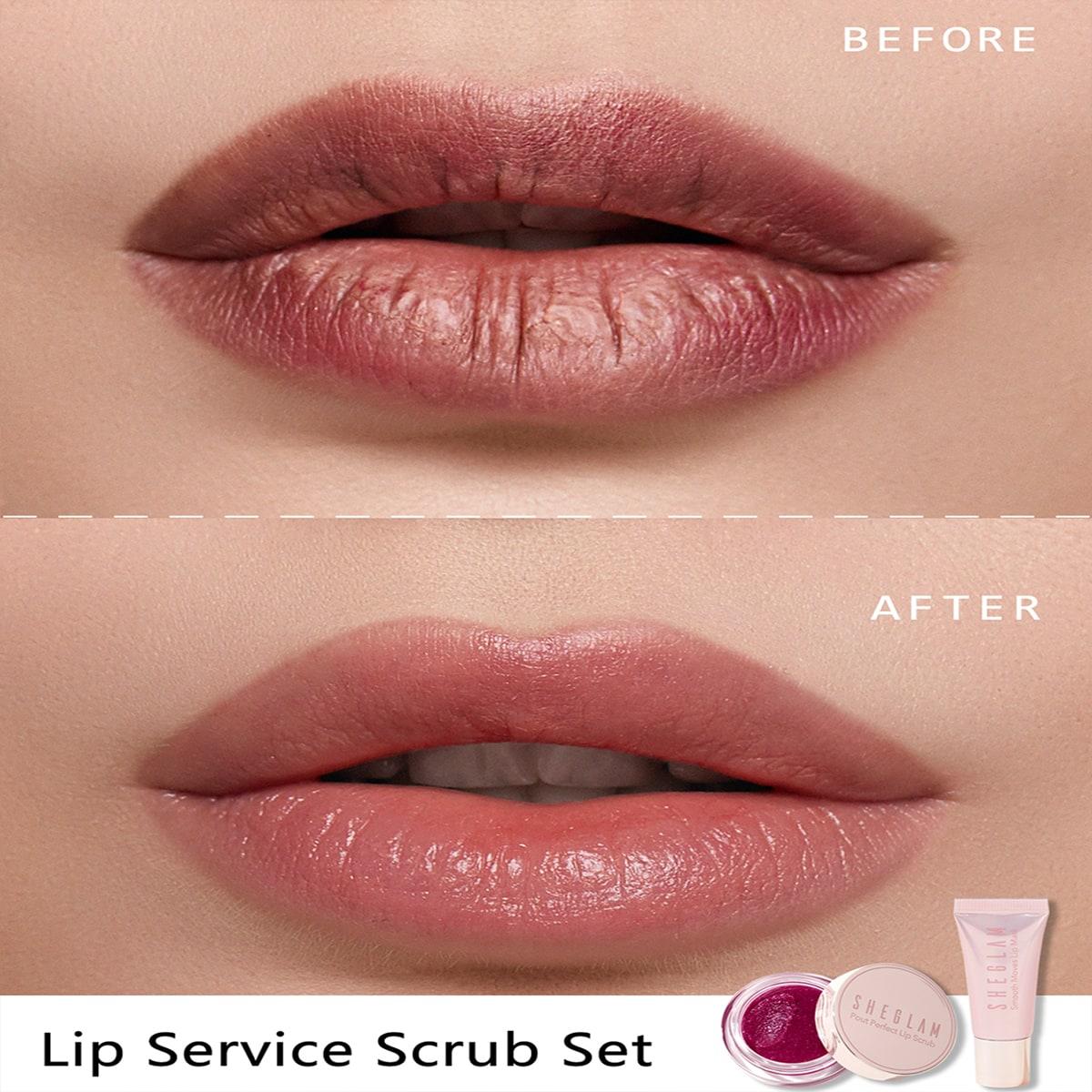 Lip Service Scrub Set
