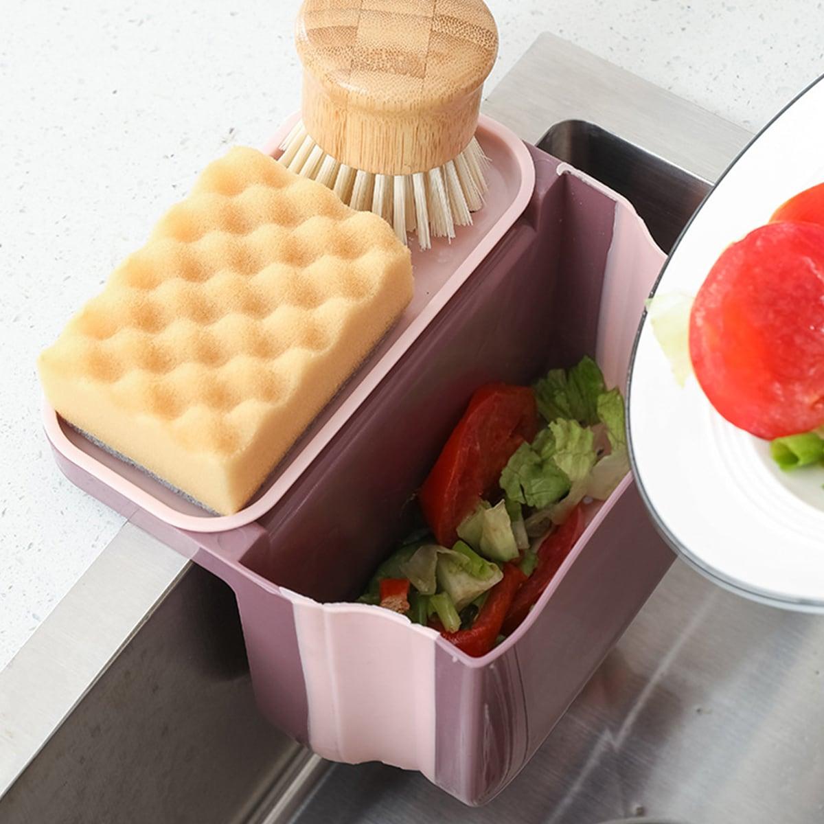 1шт кухонный стеллаж для хранения слива