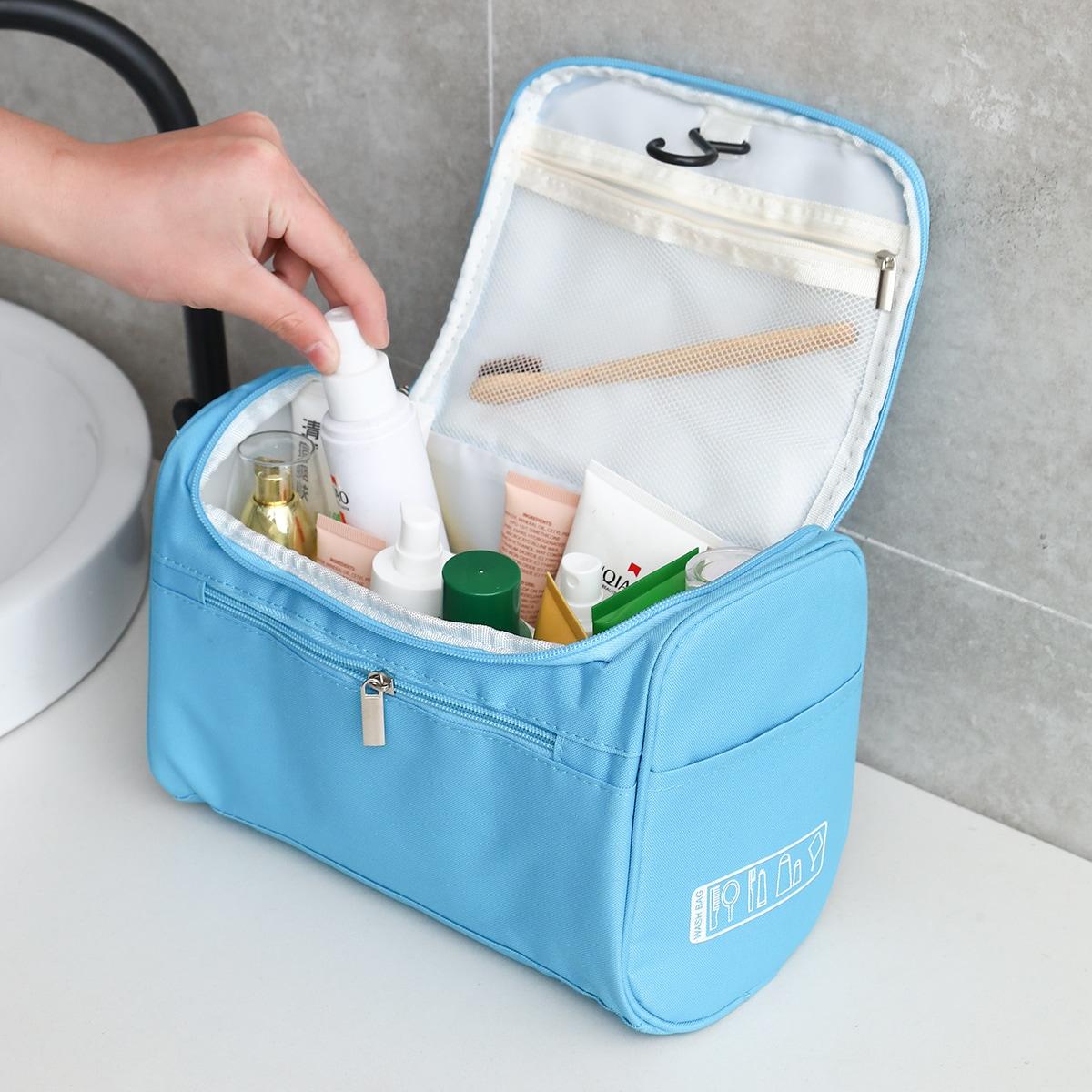 1шт большая дорожная сумка для хранения туалетных принадлежностей