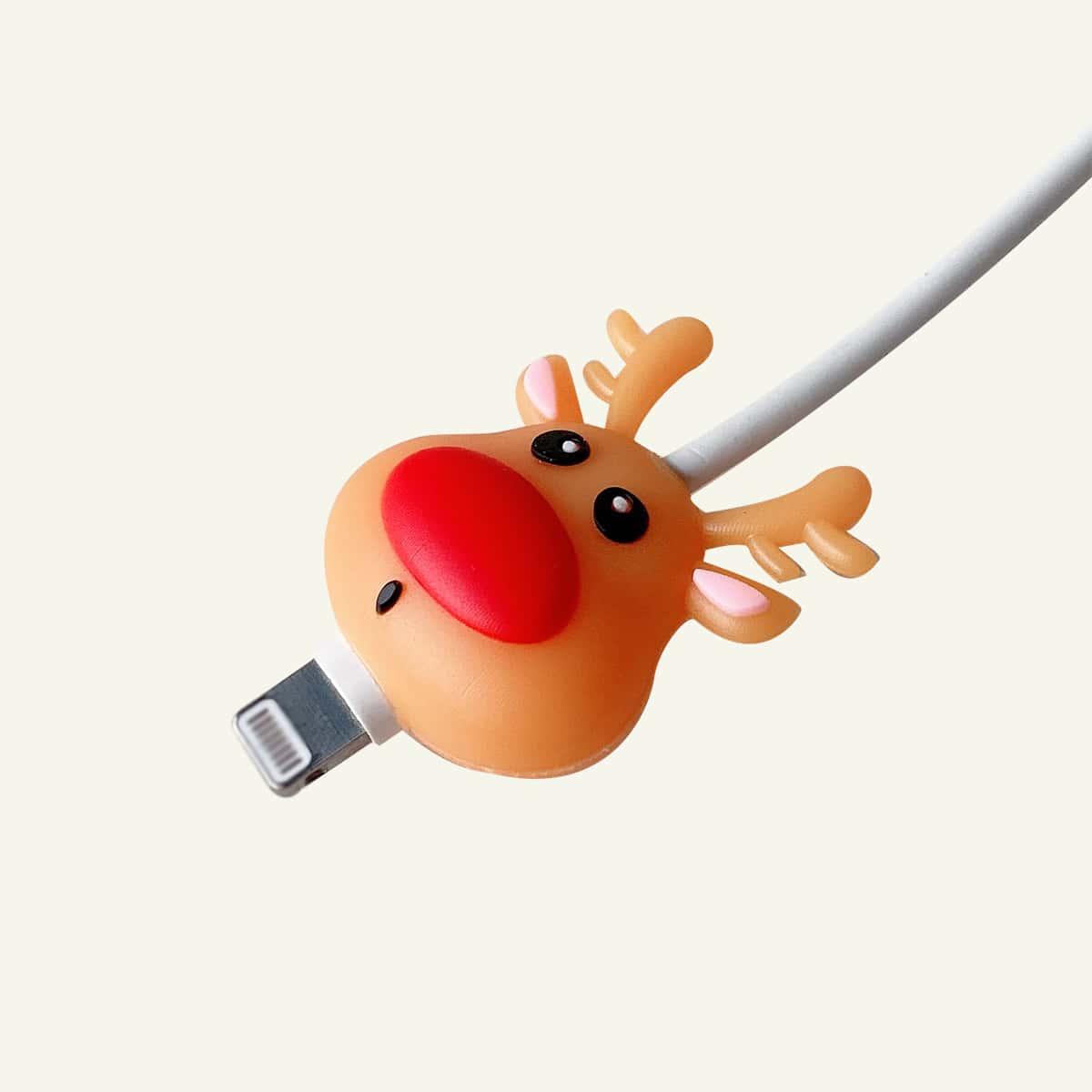 Протектор для кабеля передачи данных в форме оленя
