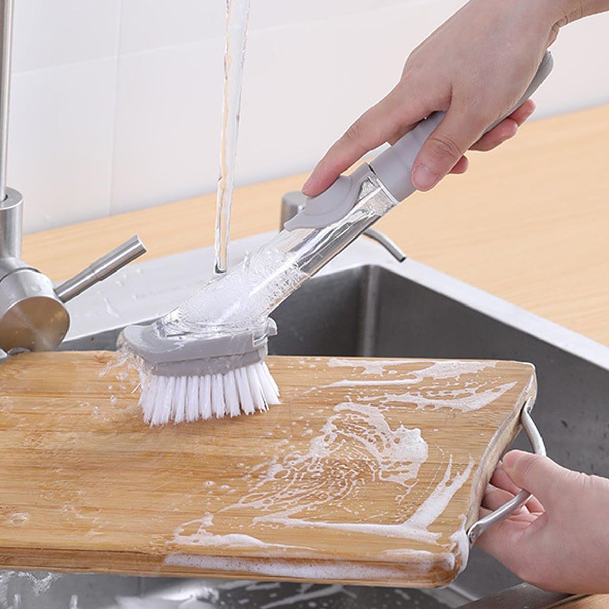 1 набор автоматическая щетка наполнения жидкостью для кастрюли