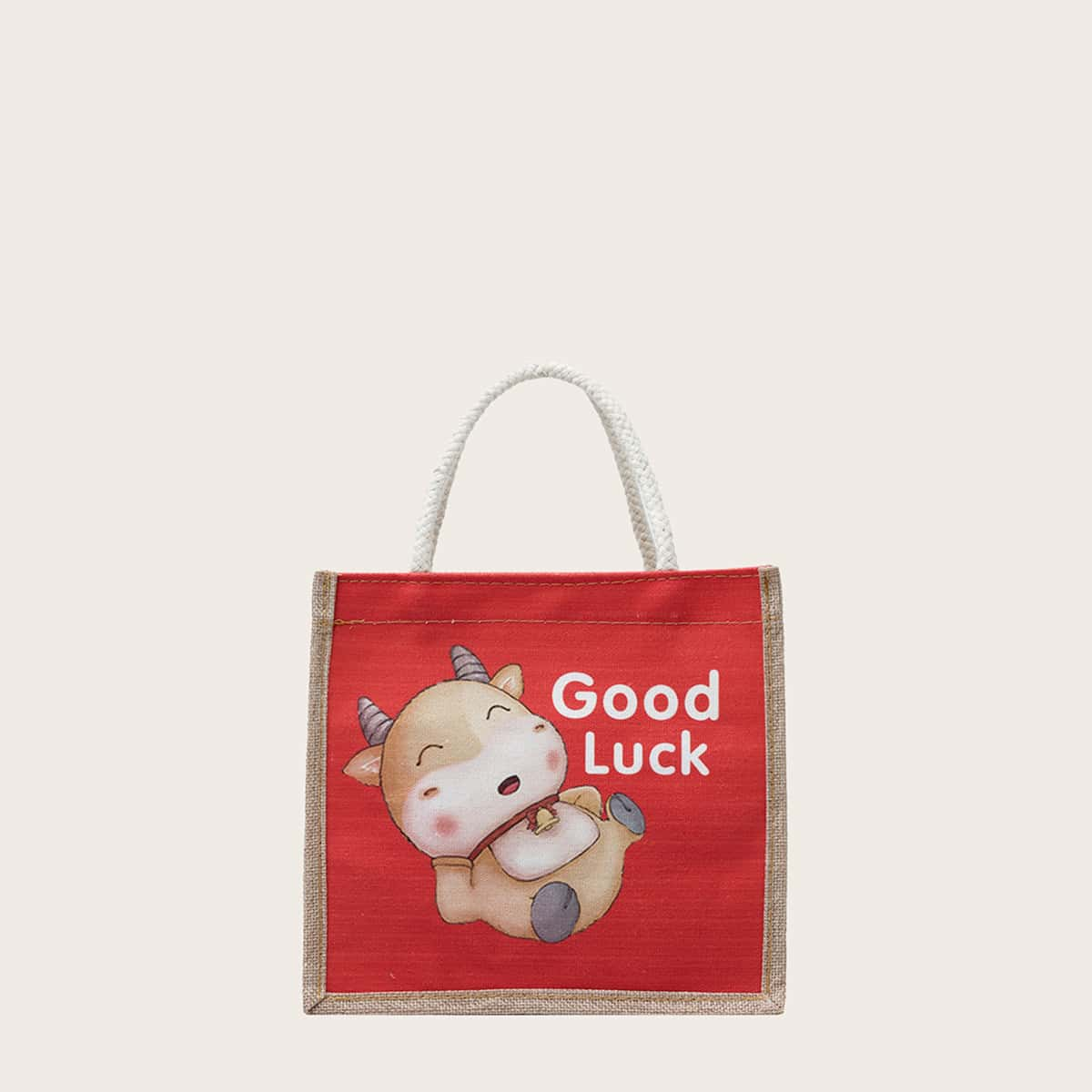 SHEIN / Cartoon & Letter Graphic Satchel Bag
