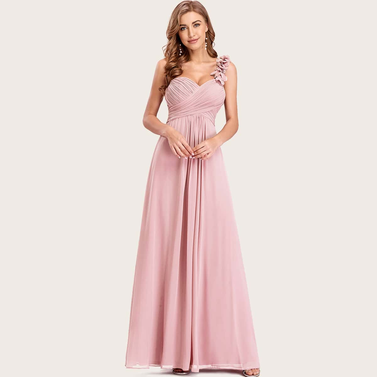 Платье на одно плечо SheIn swdress42200702276