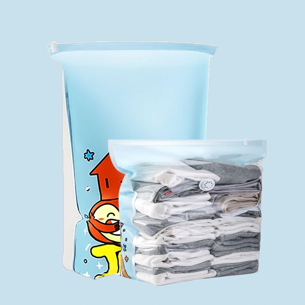 1шт вакуумный мешок для хранения одежды