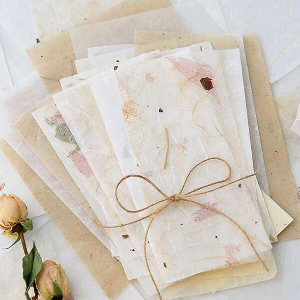 30sheets Vintage Material Paper, Multicolor