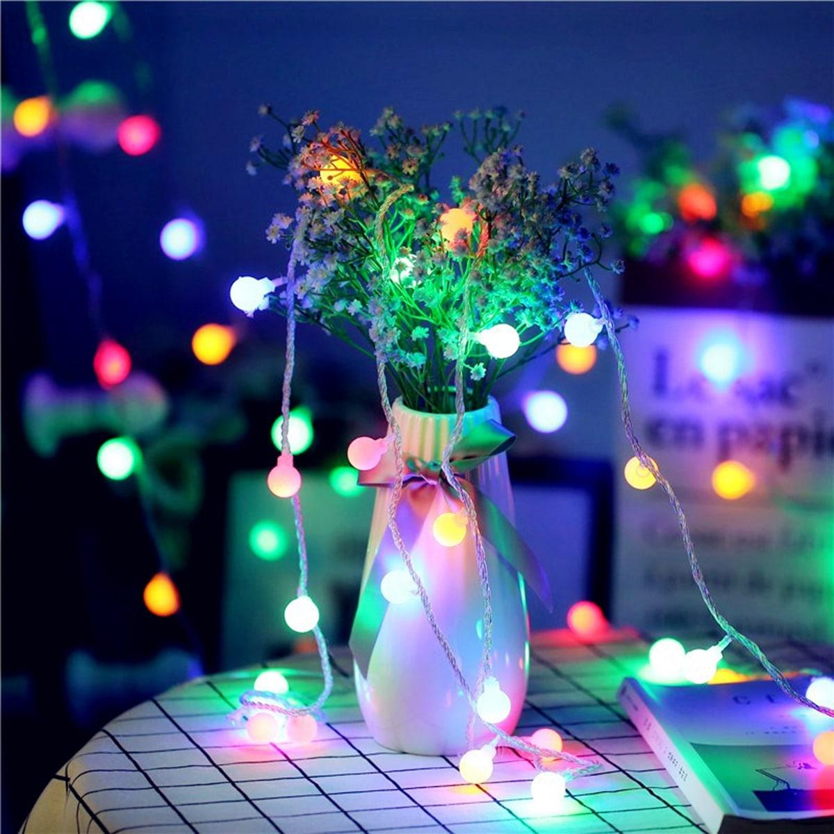 1pc String Light With 40pcs Bulb