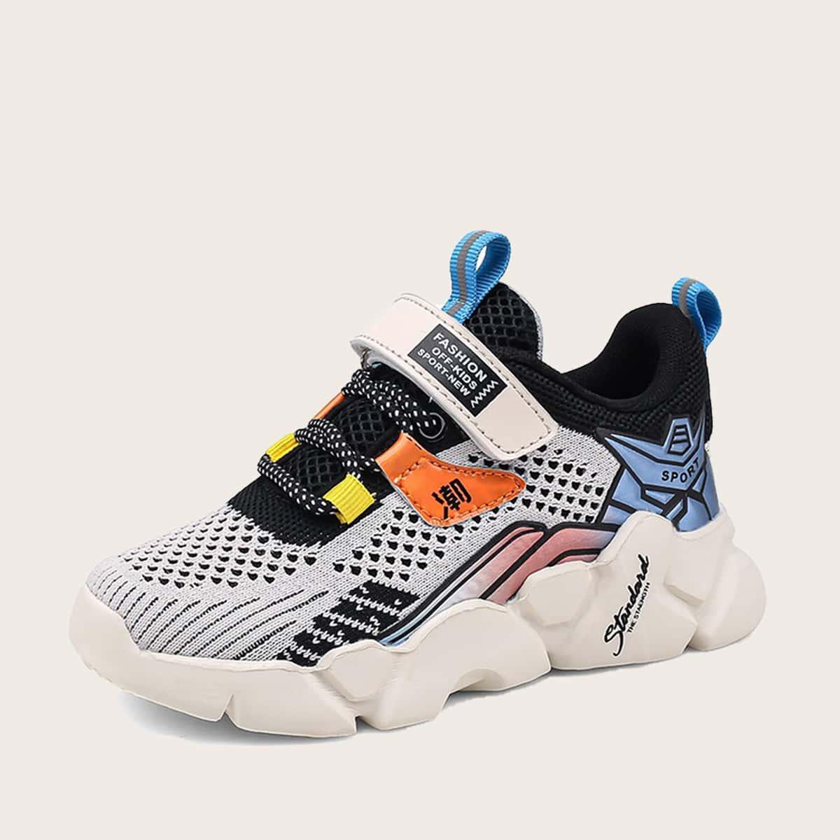 на шнурках буква Детские кроссовки по цене 1 050