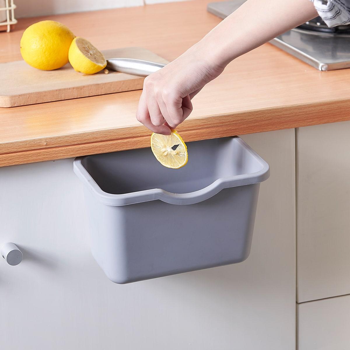 1шт кухонный подвесной мусорный бак