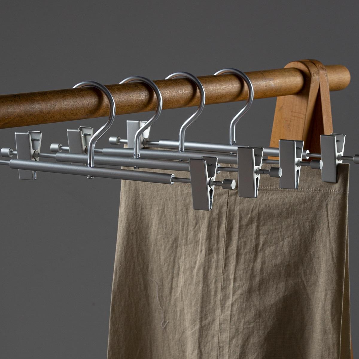 1шт металлическая вешалка для брюк