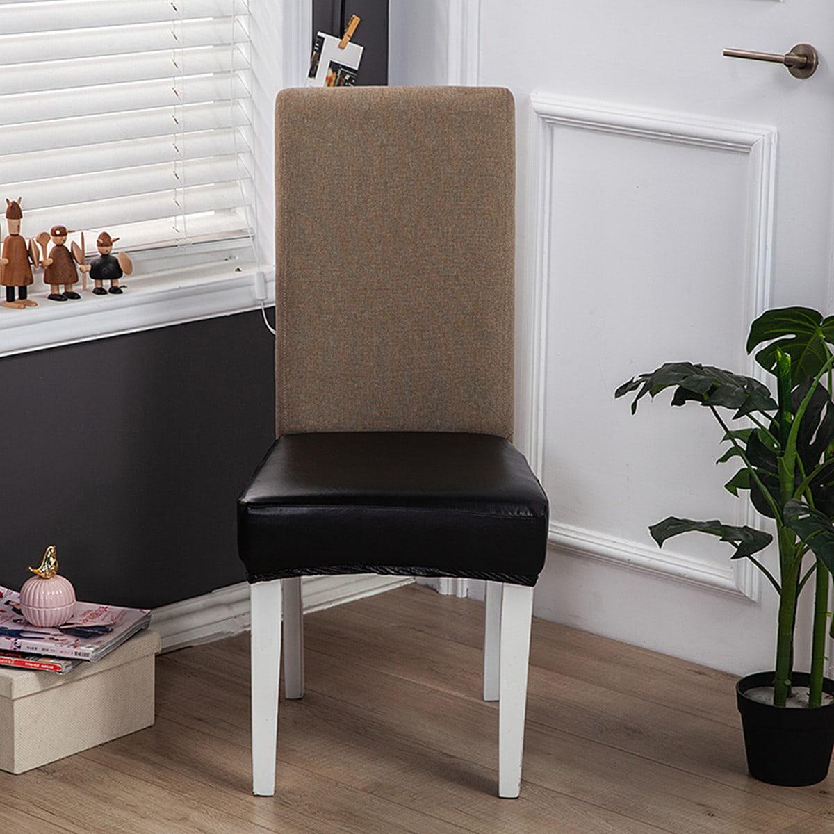 Контрастный эластичный чехол для стула