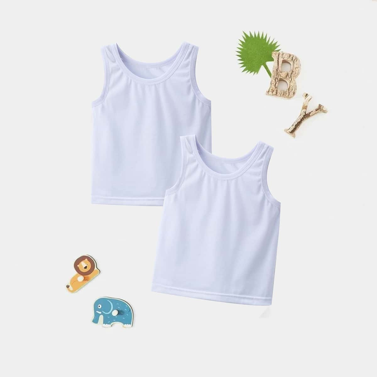 Одноцветный Основы Домашняя одежда для мальчиков