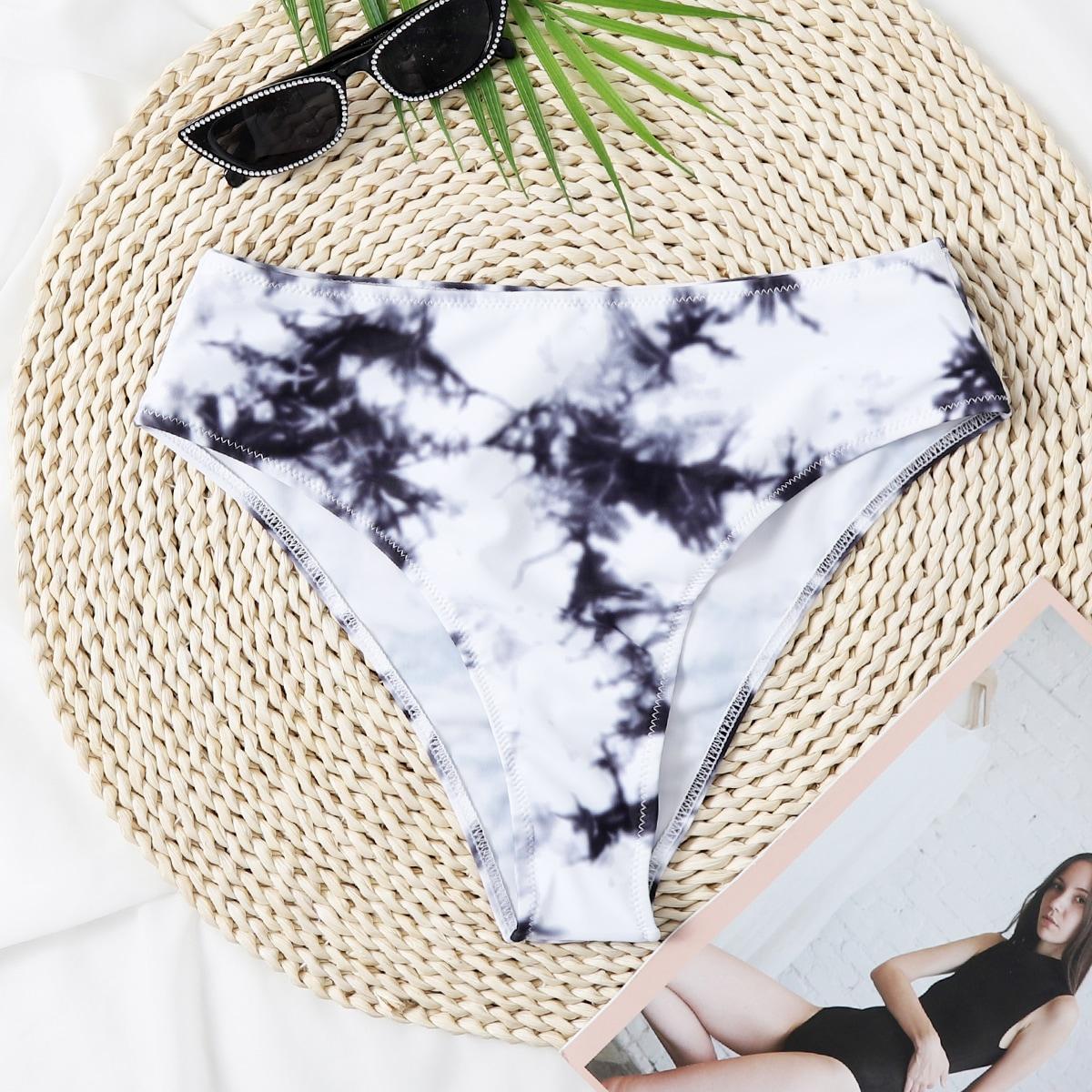 SHEIN / Tie Dye High Waisted Bikini Panty