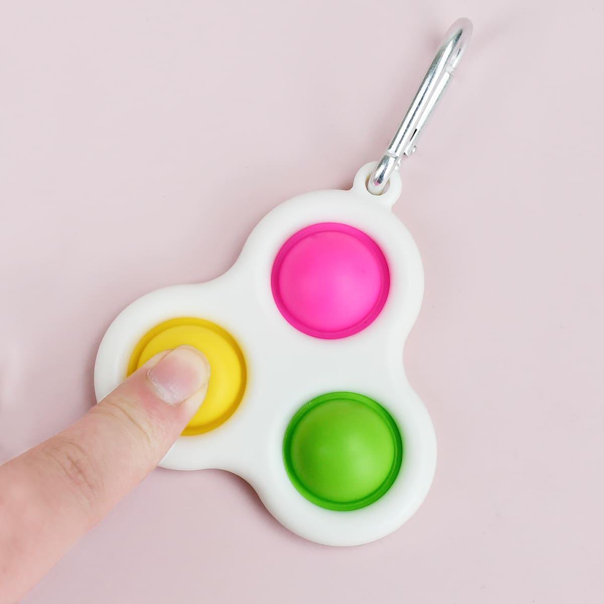 1шт игрушка-пузырь для декомпрессии случайного цвета