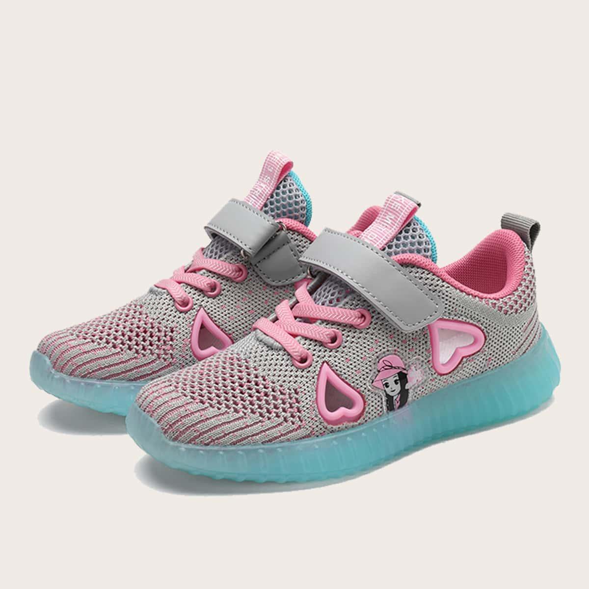 Вязаная беговая обувь для девочек от SHEIN