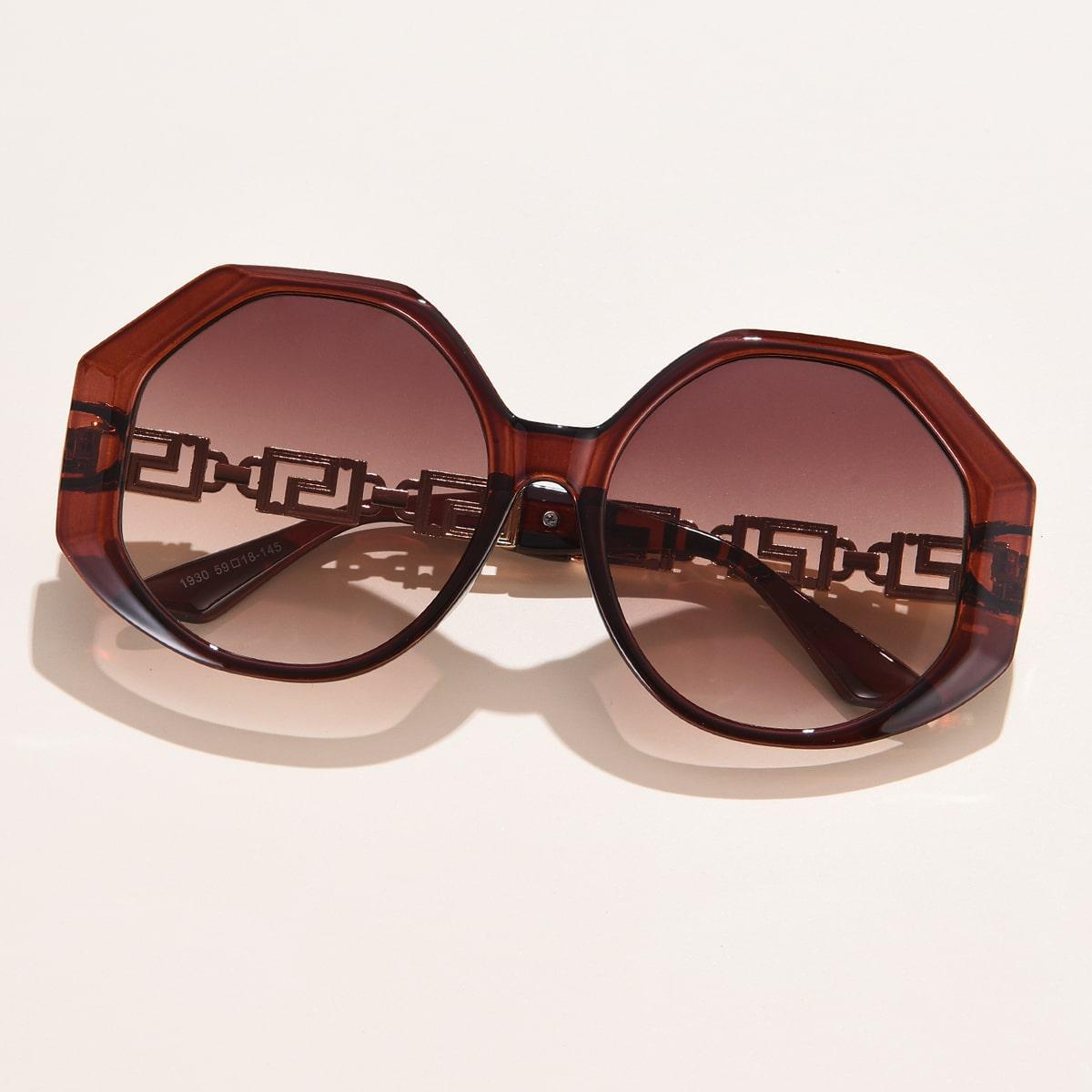 Geometric Design Sunglasses