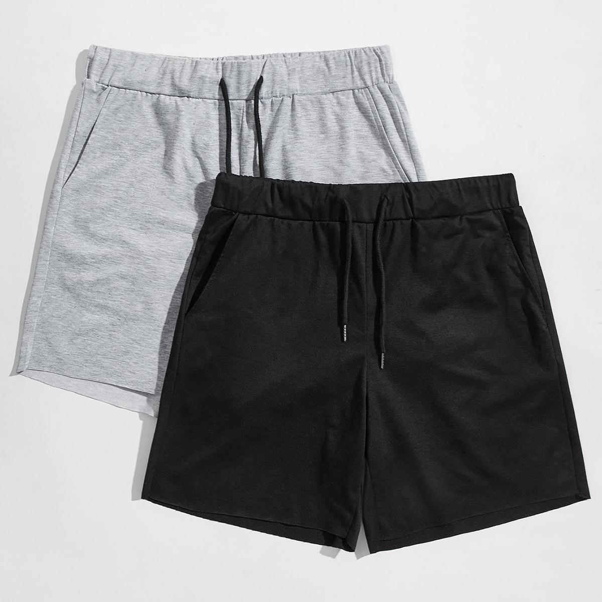 Men 2 Pack Track Shorts
