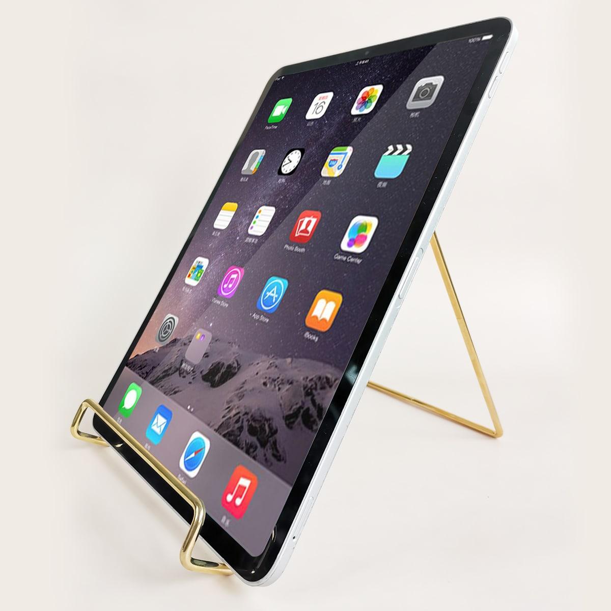 Minimalistischer Desktop-Tablet-Halter