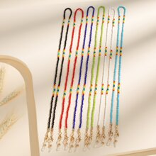 6pcs Beaded Face Mask Chain