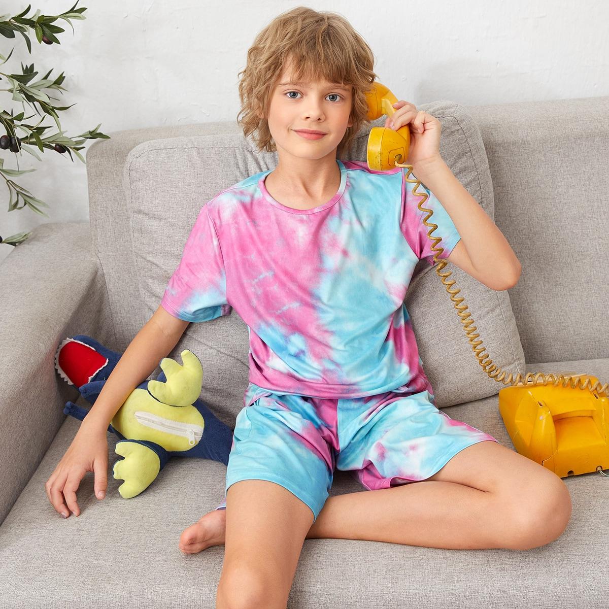 тай дай Повседневный Домашняя одежда для мальчиков