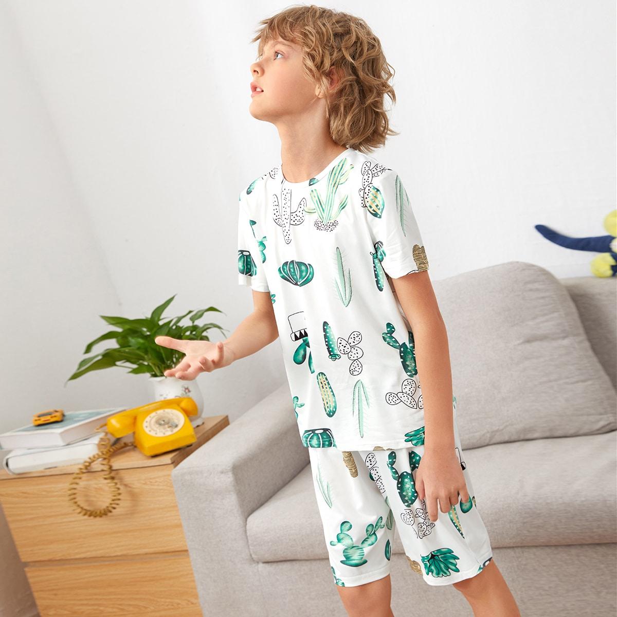 Тропический милый Домашняя одежда для мальчиков