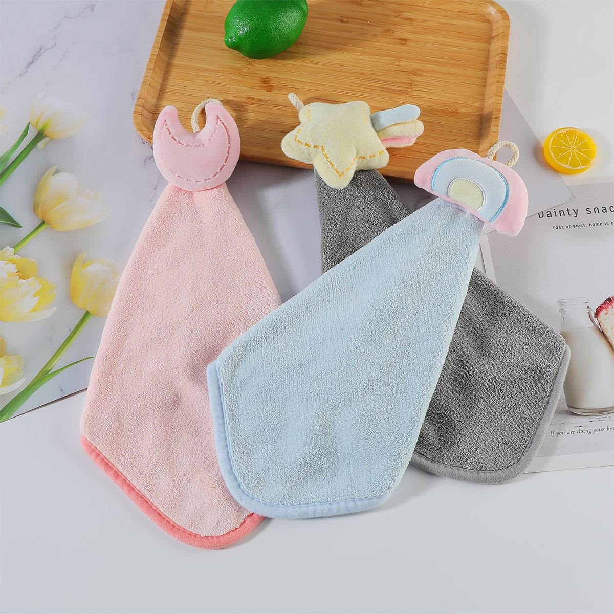 1Pc Random Color Hand Towel