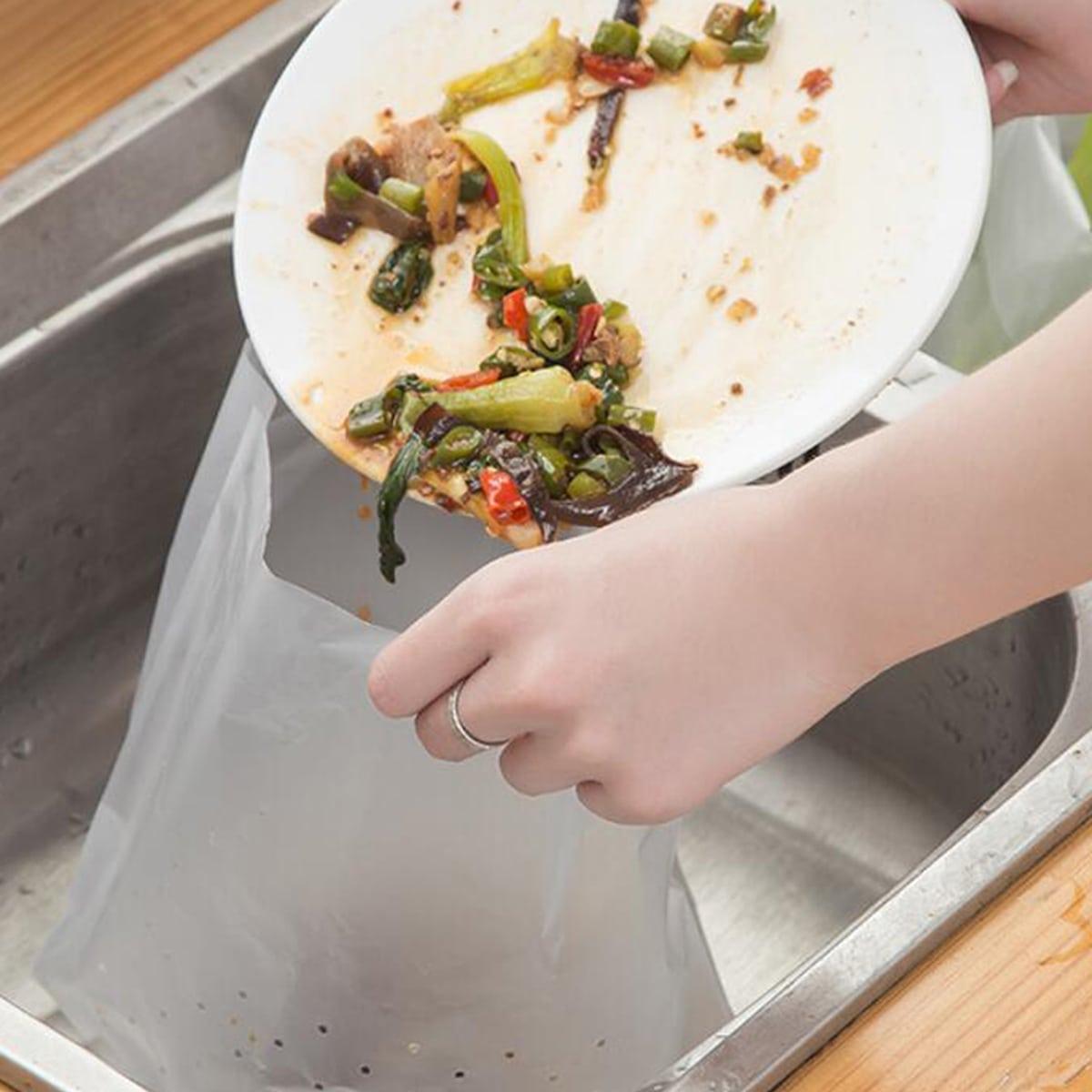 30 Stücke Einweg-Filterbeutel für Küchenabfälle