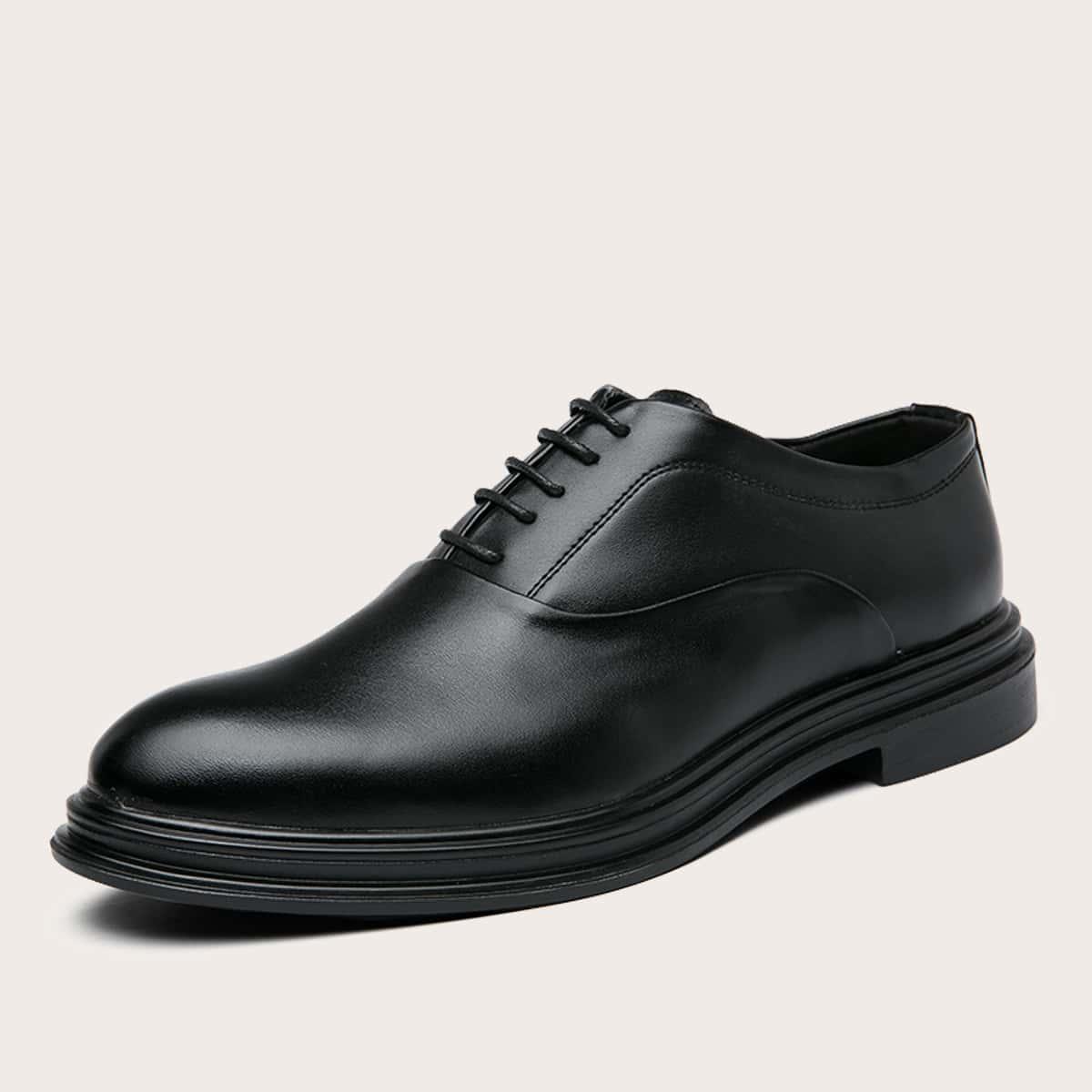 SHEIN Vlak Gekleede schoenen Kant