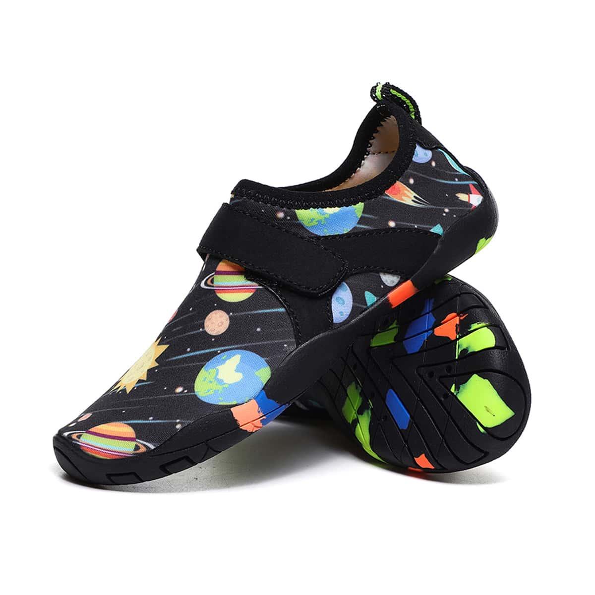 Водные туфли с узором для мальчиков от SHEIN