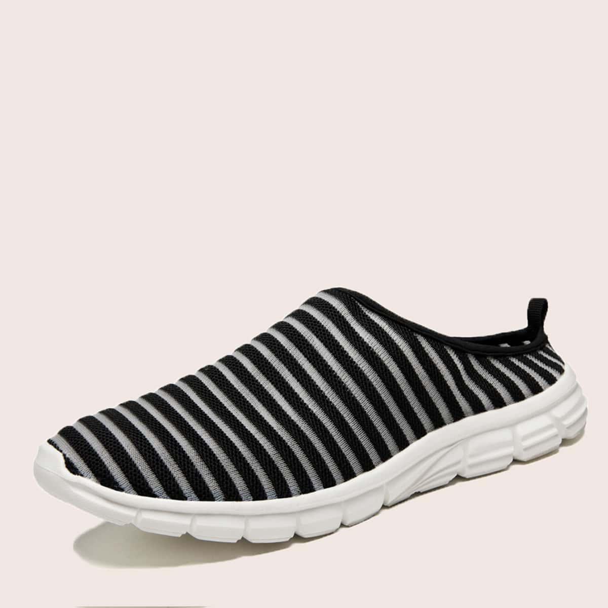 SHEIN Gestreept Sneaker man