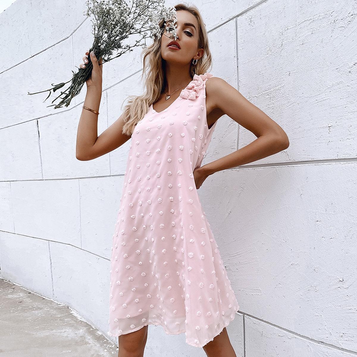 Платье в горошек SheIn swdress04210309750