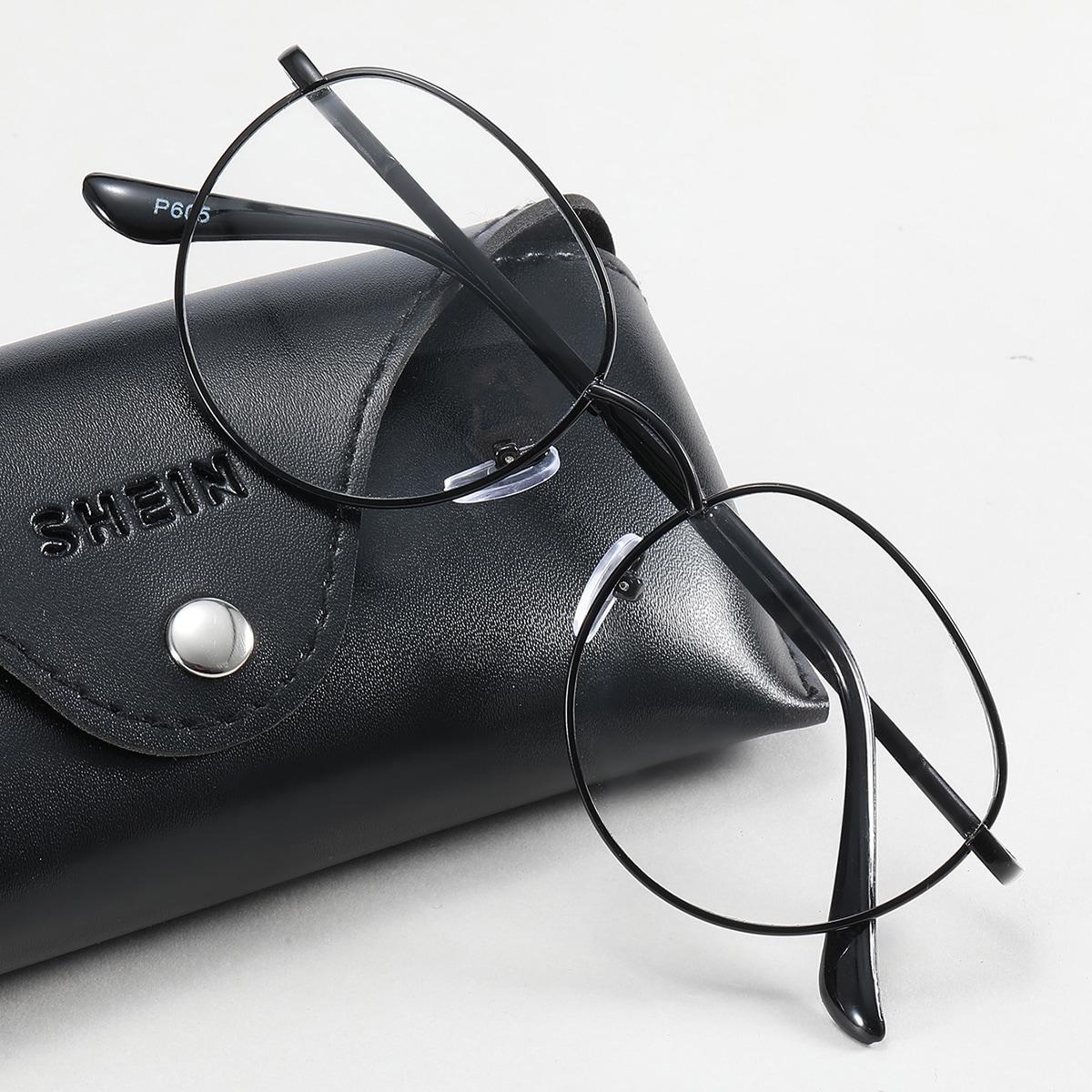SHEIN Brillen met metalen montuur voor heren