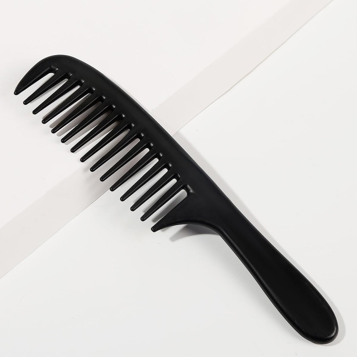 1шт расческа для волос с широкими зубами