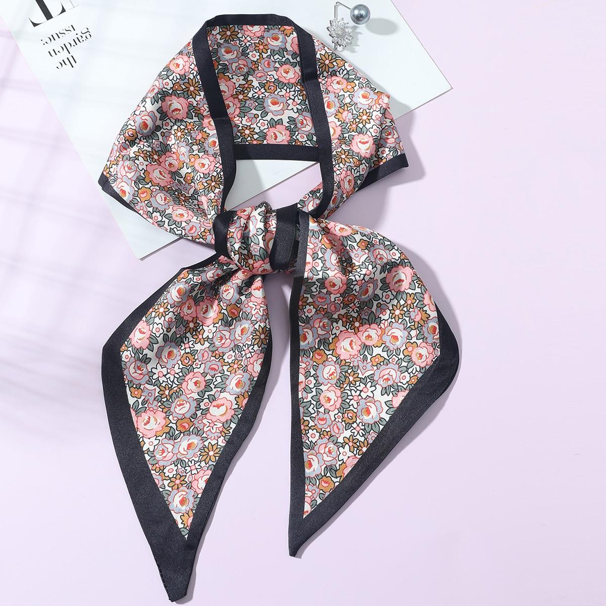 SHEIN Skinny sjaal met bloemenprint