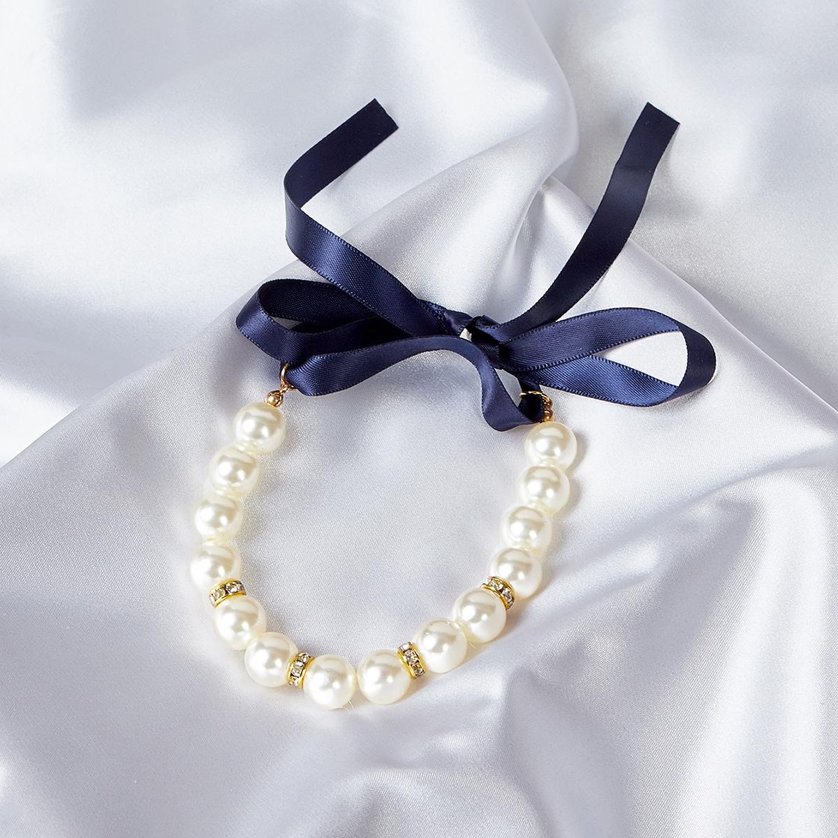 Halskette mit Perlen für Haustiere