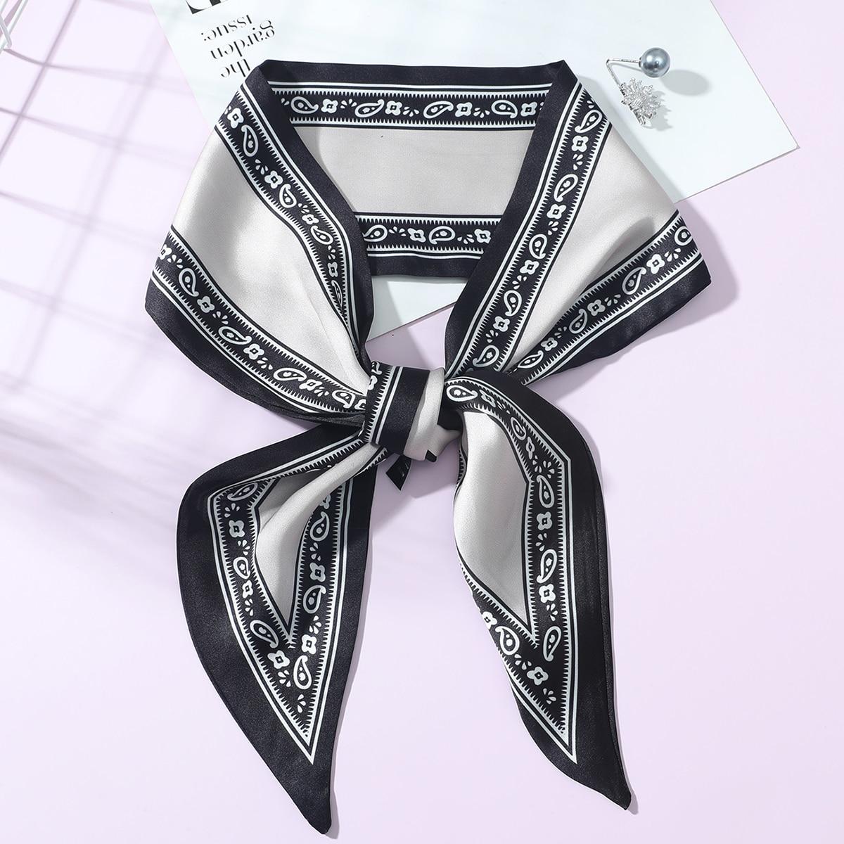 SHEIN Skinny sjaal met paisley-print