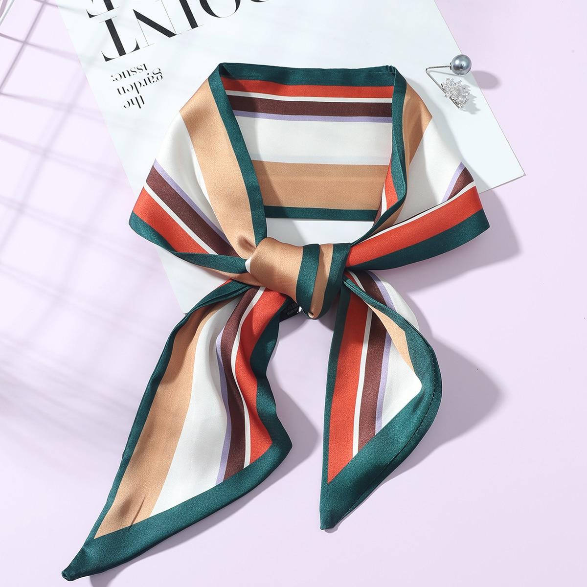 SHEIN Gestreepte skinny sjaal