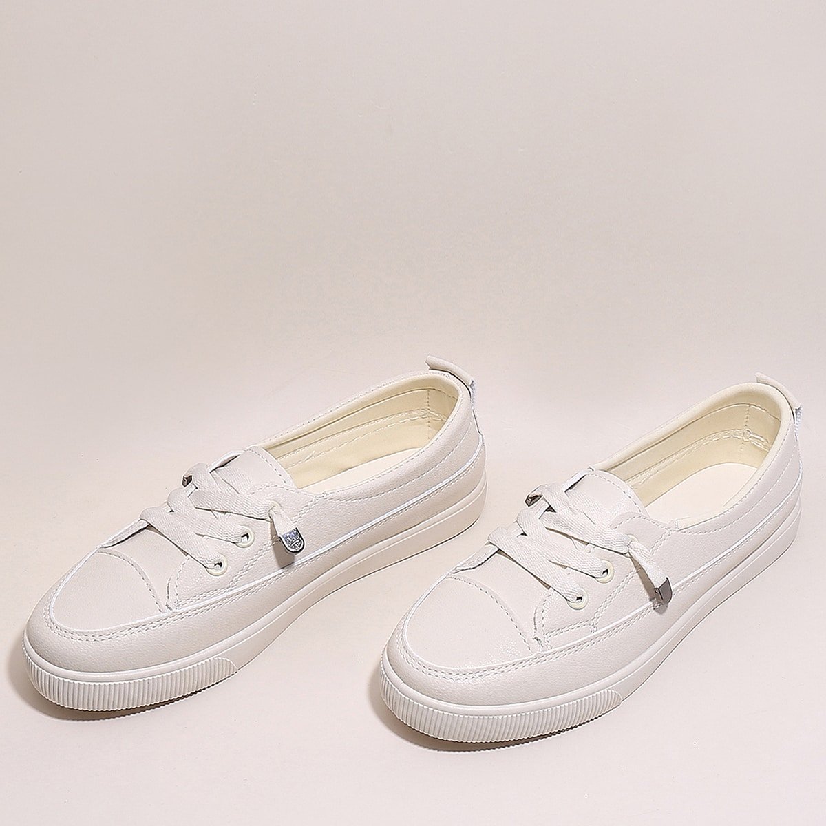 Minimalist Lace-Up Front Skate Shoes
