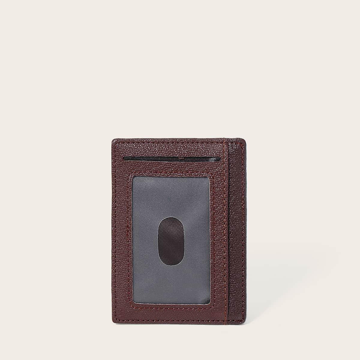 SHEIN Minimalistische kaarthouder