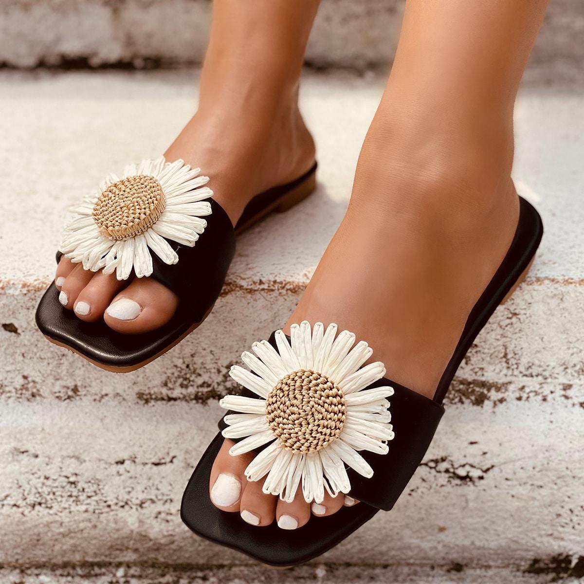 SHEIN Applique dia sandalen