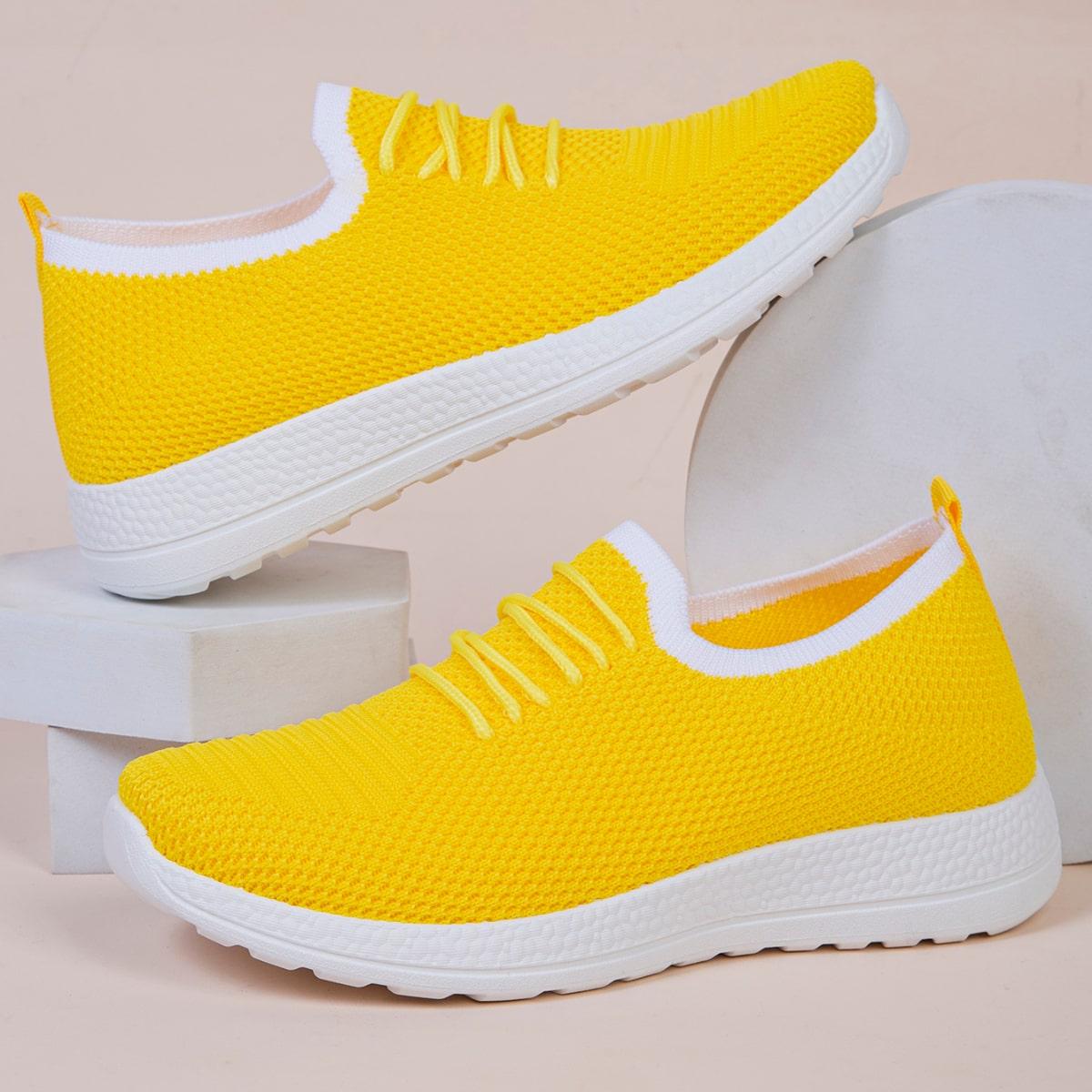 SHEIN Minimalistische Lace Decor instapsneakers