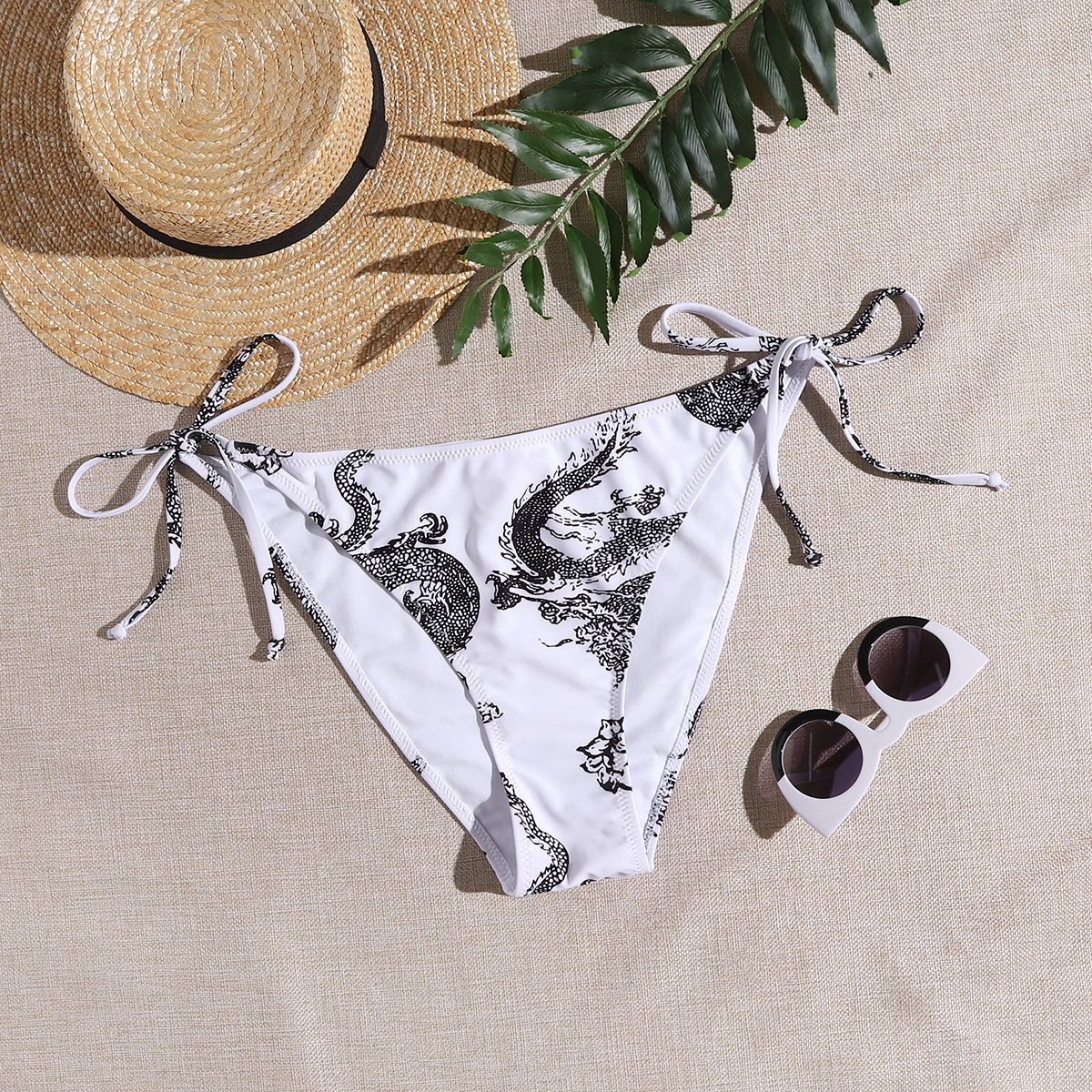 SHEIN Grote maat bikini bottom