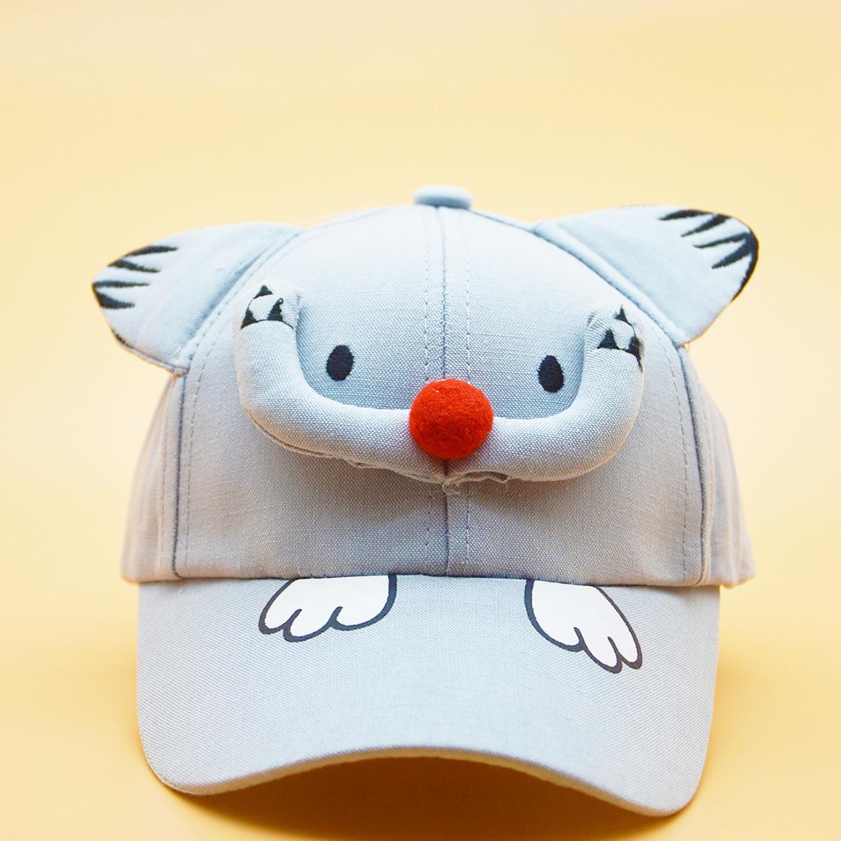 Kleinkind Jungen Baseball Hut mit Karikatur Design